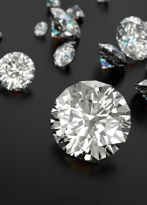 Loose diamonds at Hamilton Jewelers